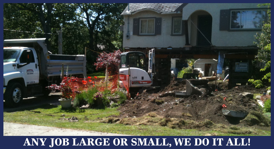ANY JOB LARGE OR SMALL, WE DO IT ALL! Dave's Contracting Landscaping