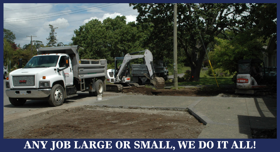 ANY JOB LARGE OR SMALL, WE DO IT ALL! Dave's Contracting Construction